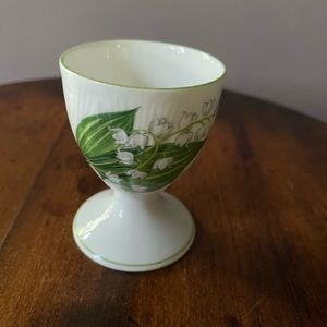 Shelley Lilly of the Valley egg cup